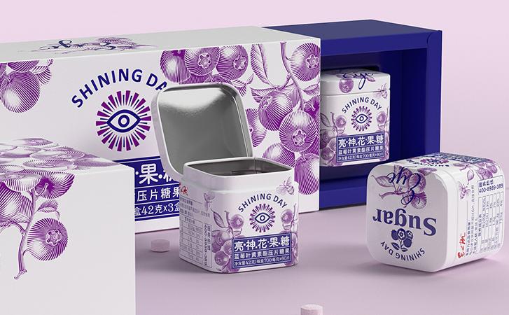 灯具包装设计 标签设计球包装设计