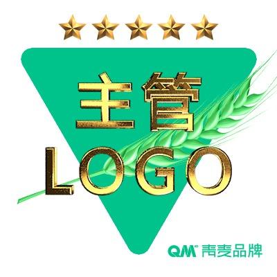 青麦品牌主管公司LOGO商标设计可注册图文字体企业品牌设计