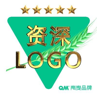 青麦品牌资深公司LOGO商标设计可注册图文字体企业品牌设计