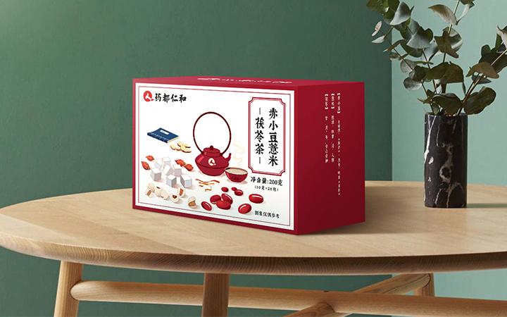 品牌产品包装设计标贴包装袋包装盒手绘插画手提袋原创设计制作