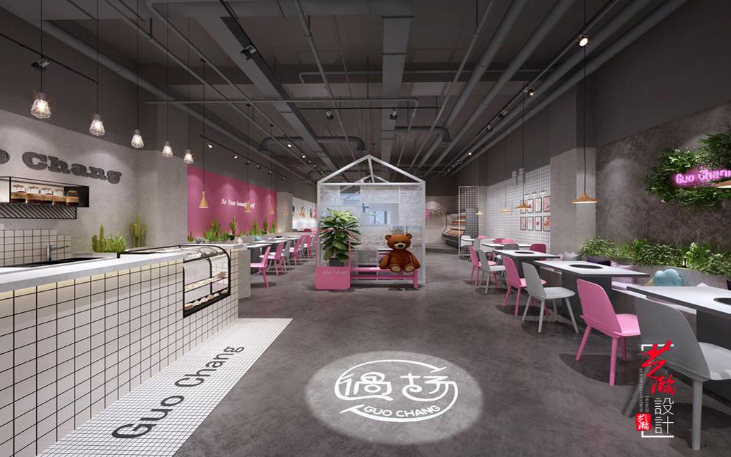 效果图制作室内装修设计店面设计公装VR3D效果图建模制作代做