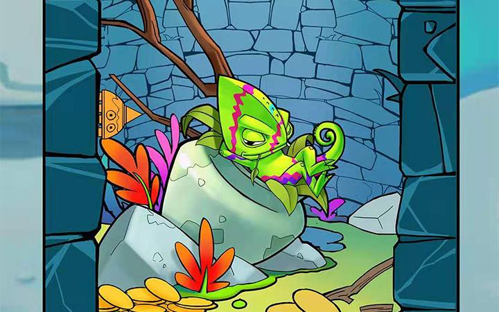 【特惠】卡通儿童商业插画包装绘本手绘地图原画四格漫画设计