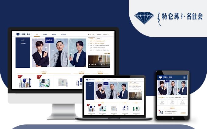 服务类公司手机门户网站定制开发信息人才招聘官方高端设计升级