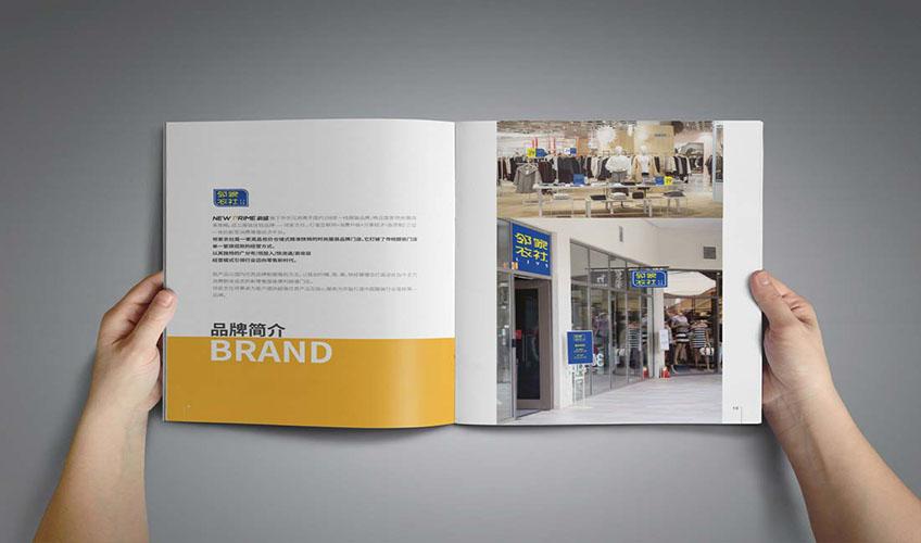 _企业画册设计宣传品三折页简介产品科技封面说明书招商创意手册10