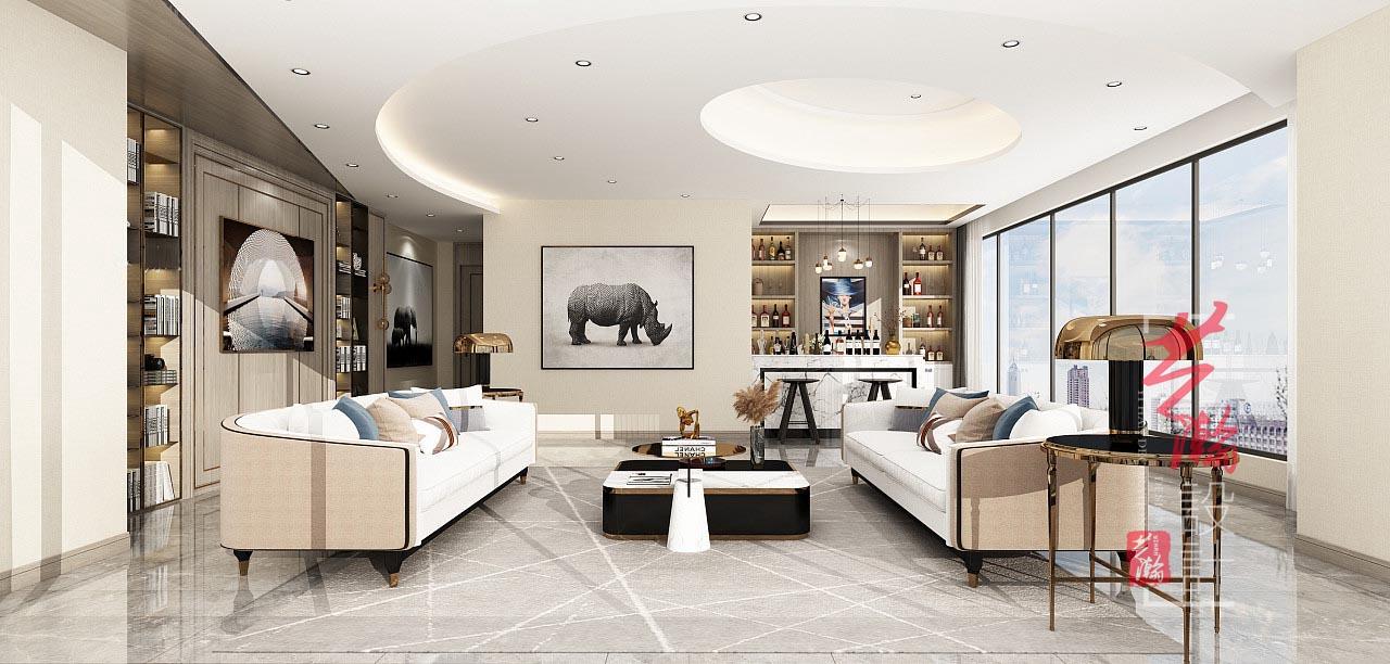 室内设计效果图家装装修图纸室内建模装修设计布局施工图公装设计