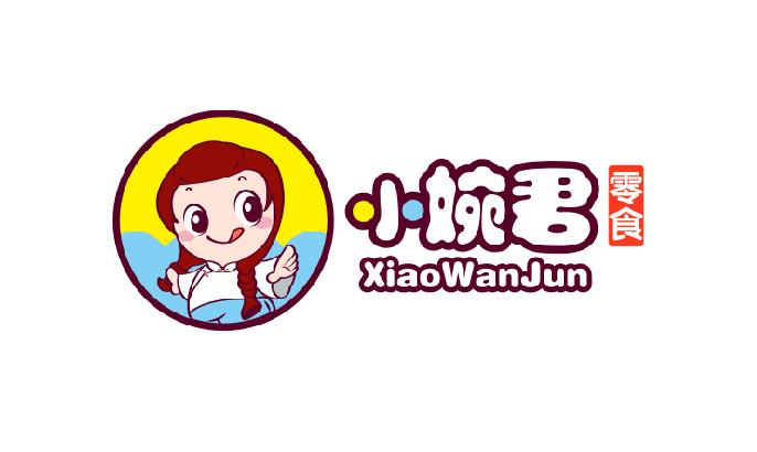 卡通手绘公司企业吉祥物标志商标美术插画LOGO文化漫画设计
