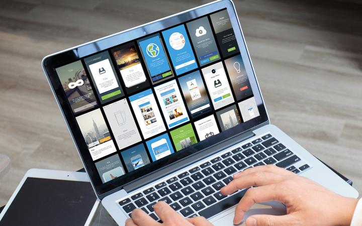 移动应用UI设计网页APP软件界面交互设计H5产品UI美工