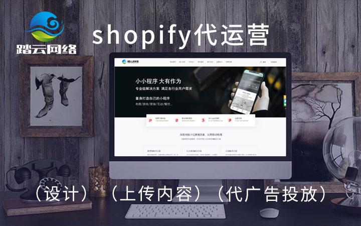 shopify搭建网站 店铺代设计 代上传内容 代广告投放