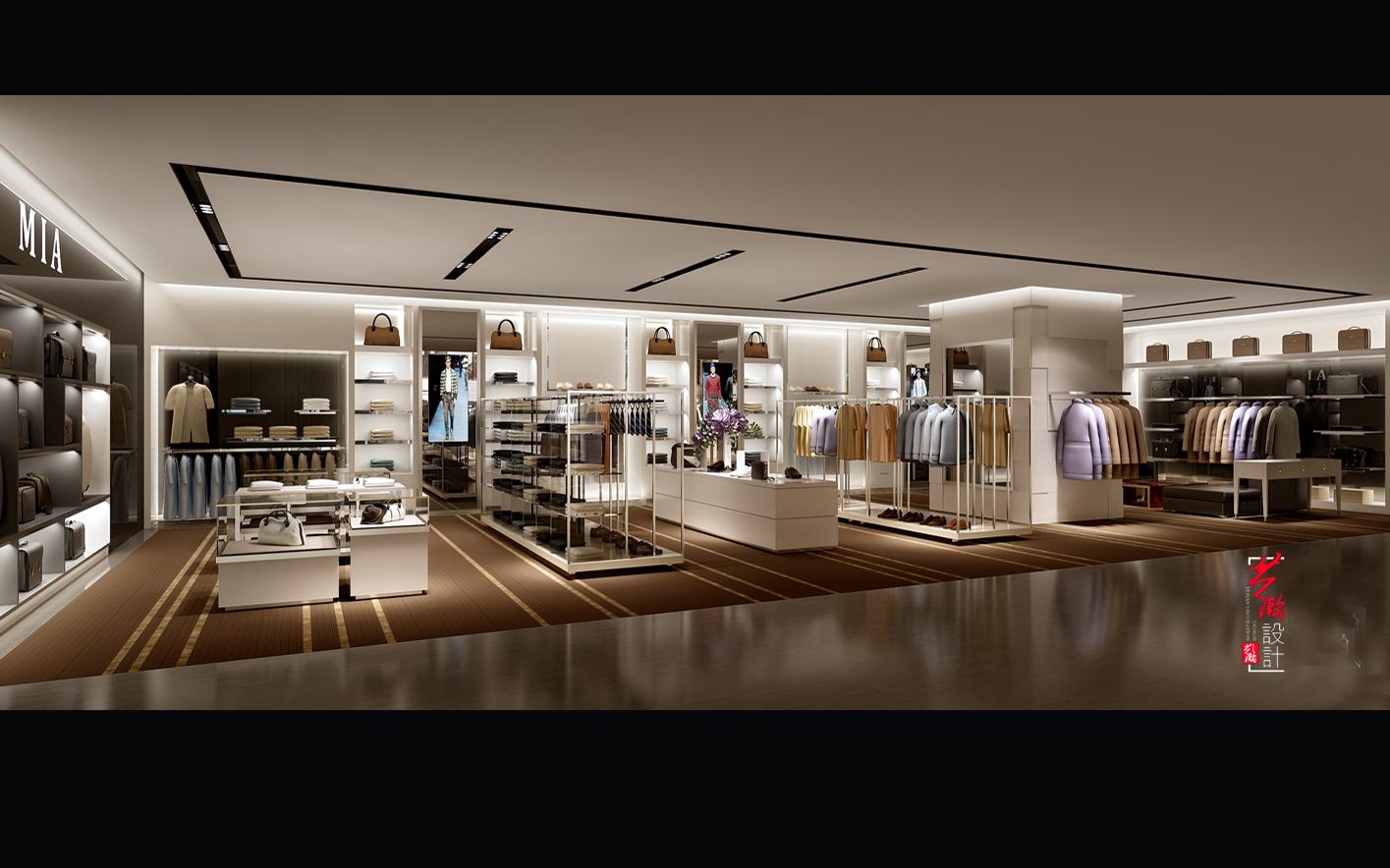 效果图设计室内装修设计店面设计图店铺室内家装设计空间设计制作