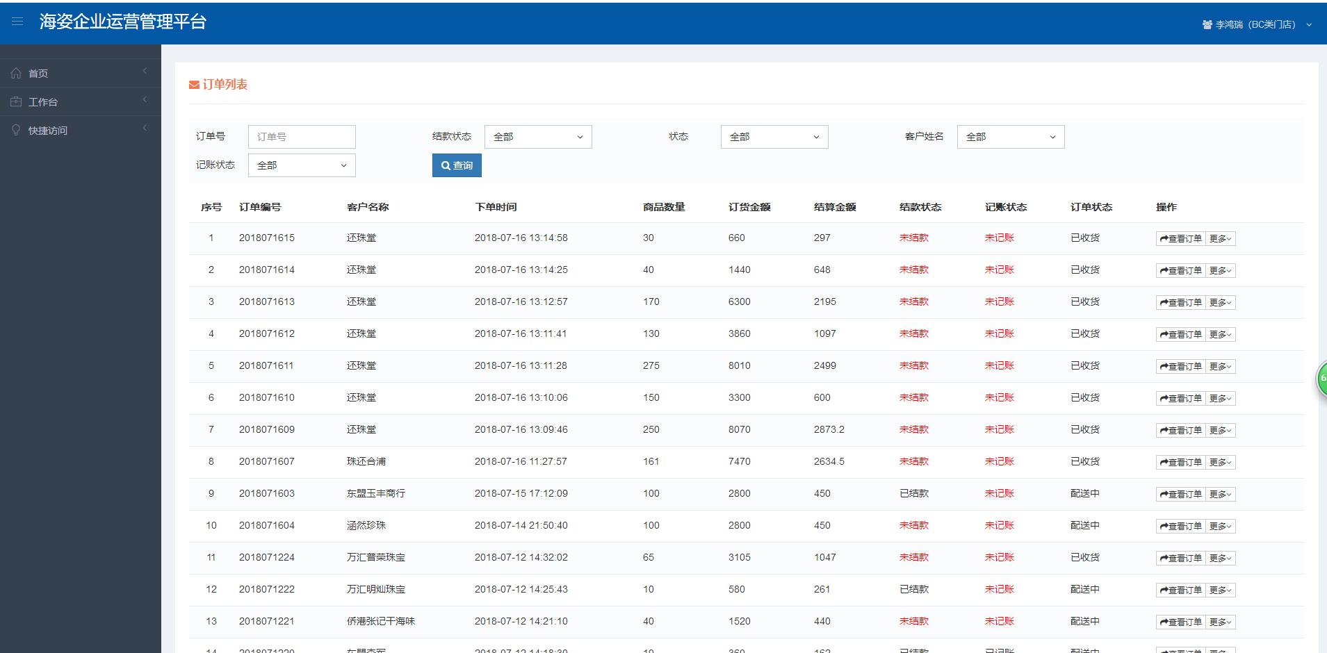 scrn供应链管理/代理商管理/供应商下单管理/订单管理系统