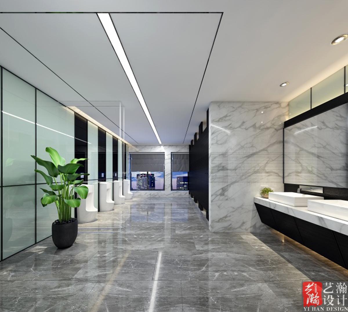 办公室设计装修效果图设计会议室大厅文化墙设计制作前台背景墙效