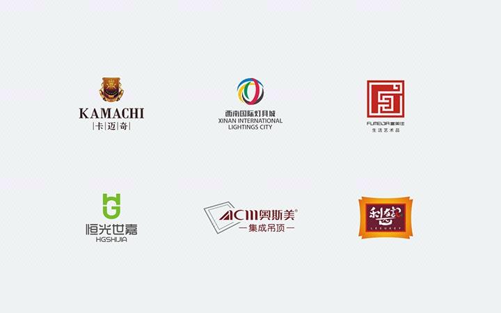 设计商标图形图标志企业公司餐饮英文字体互联网门店