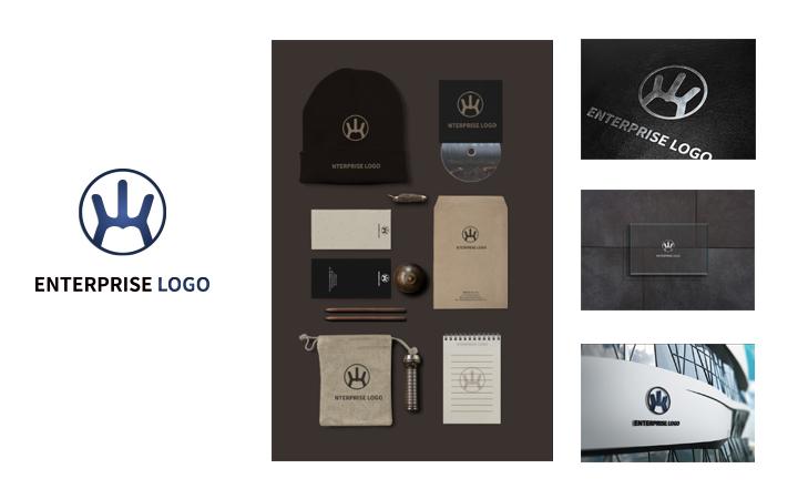 原创商标公司企业品牌图标标志字体动态卡通英文logo设计