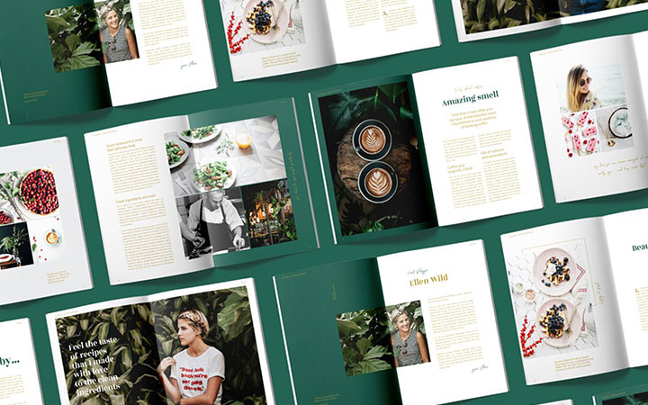 画册设计产品手册太原公司宣传册书籍封面排版工业册子三折页企业