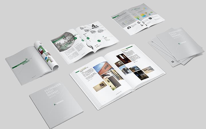 城市风貌艺术培训医疗美容农场旅游医疗器械行业宣传册画册设计