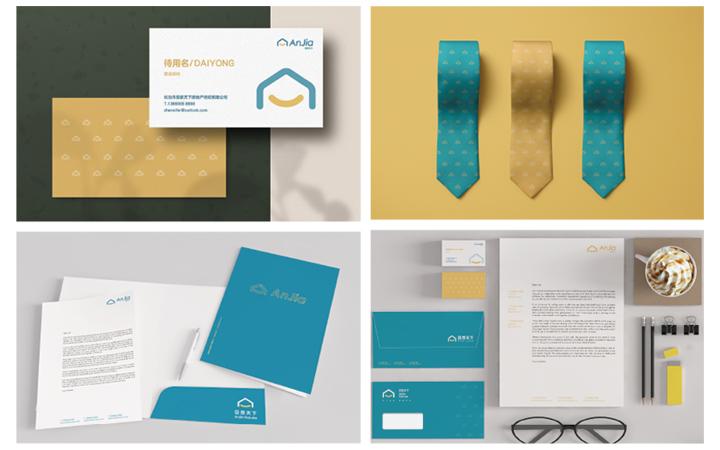 企业VI设计全套定制设计餐饮品牌科技教育VIS升级设计