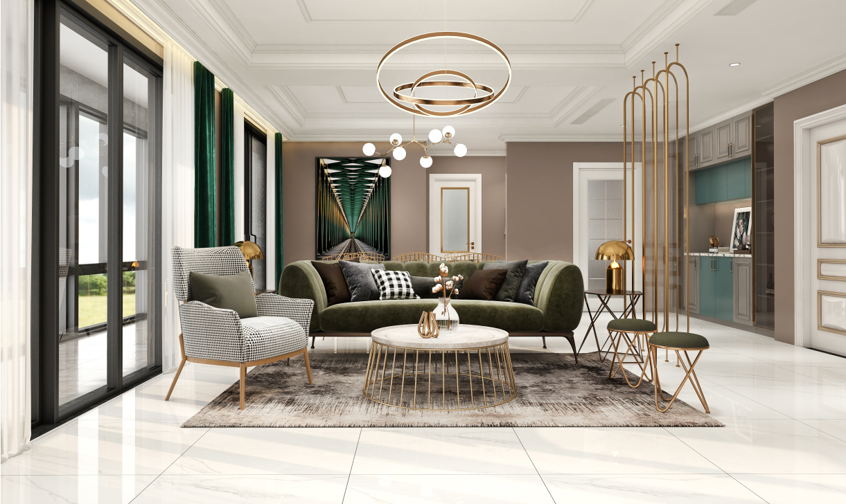 室内样板房新房二手房装修别墅房屋自建房家装设计平面方案