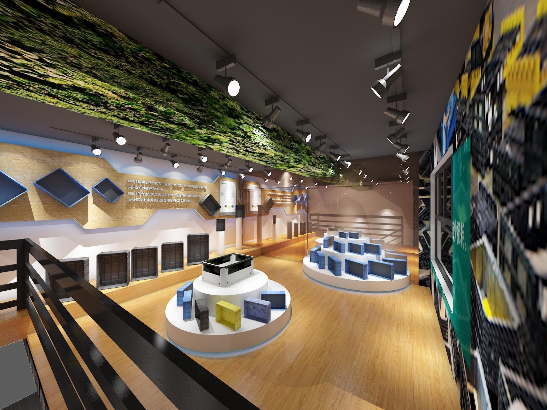 展会展厅设计/企业展厅/产品展厅设计效果图