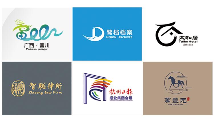 商标LOGO设计餐饮教育服务企业logo标志图标设计平面设计