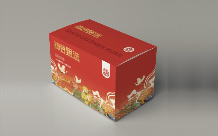 观视包装设计礼盒手提袋包装袋包装盒设计水果食品农产品包装设计