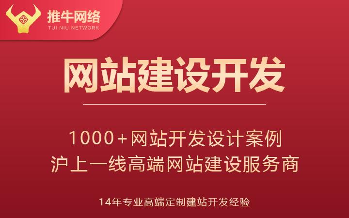 网站建设开发 高端网站网页定制设计 14年经验100+团队