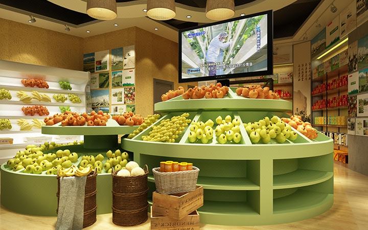 水果店设计  鲜榨果汁店  临街店铺    饮料店