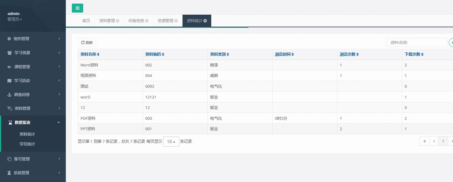 企业文档管理系统教学成果笔记资料库合同吱吱文档管理系统