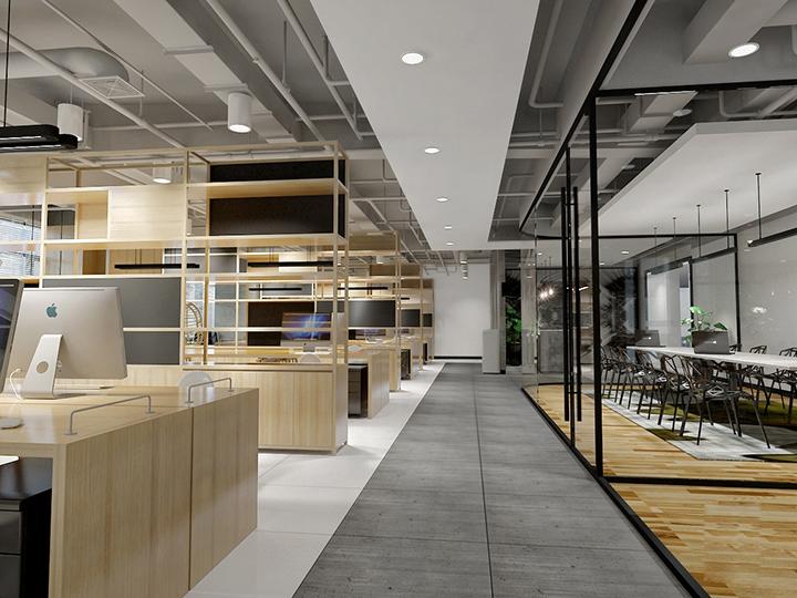 装修设计效果图工装室内设计办公室设计餐饮装修施工图公装设计