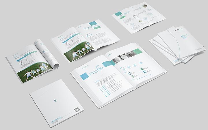 工程机械新能源服装产品空调电器电子配件牧场保险行业宣传册设计