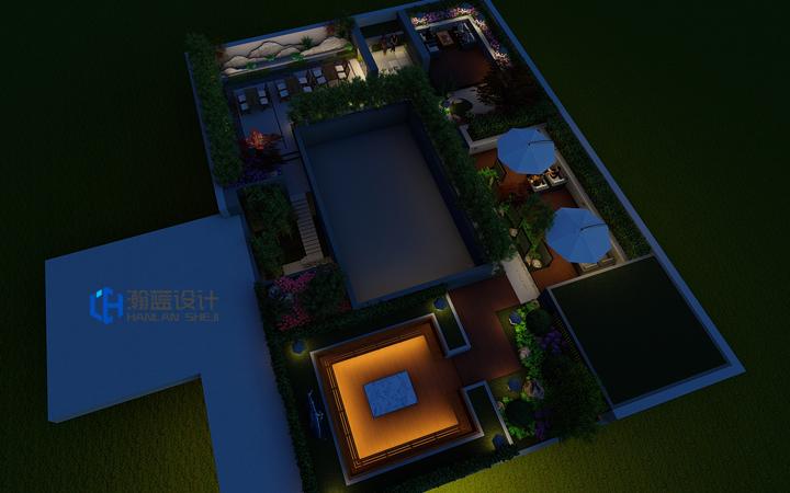 屋顶花园设计,立体空间设计,空中花园,空中酒店