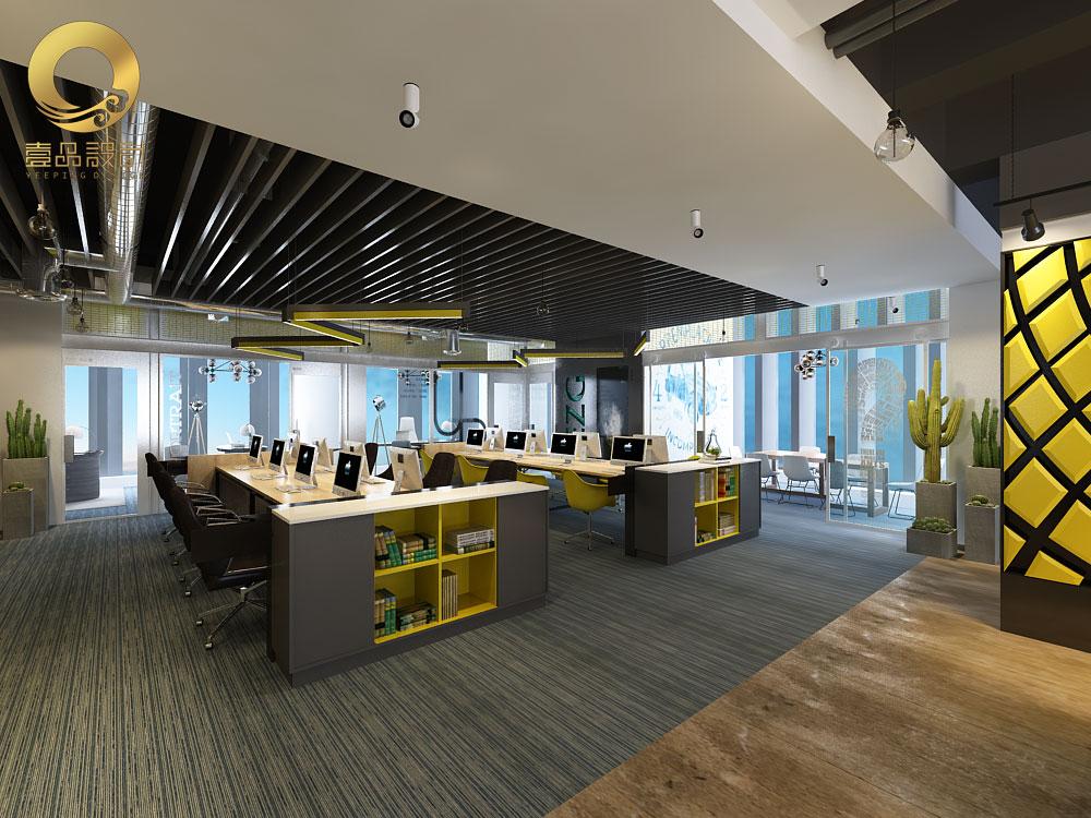 办公室装修设计工装设计效果图设计