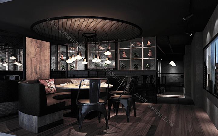 效果图   装修设计 空间设计    餐饮空间  餐饮连锁店