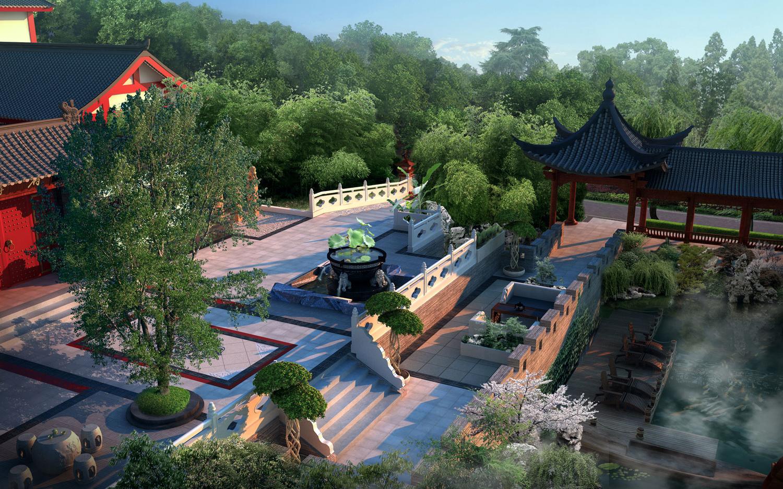 庭院园林设计冀初铭设计景观设计效果图