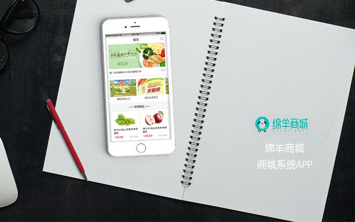 农产品水果生鲜有机食品商城惠农电商软件开发定制手机APP制作