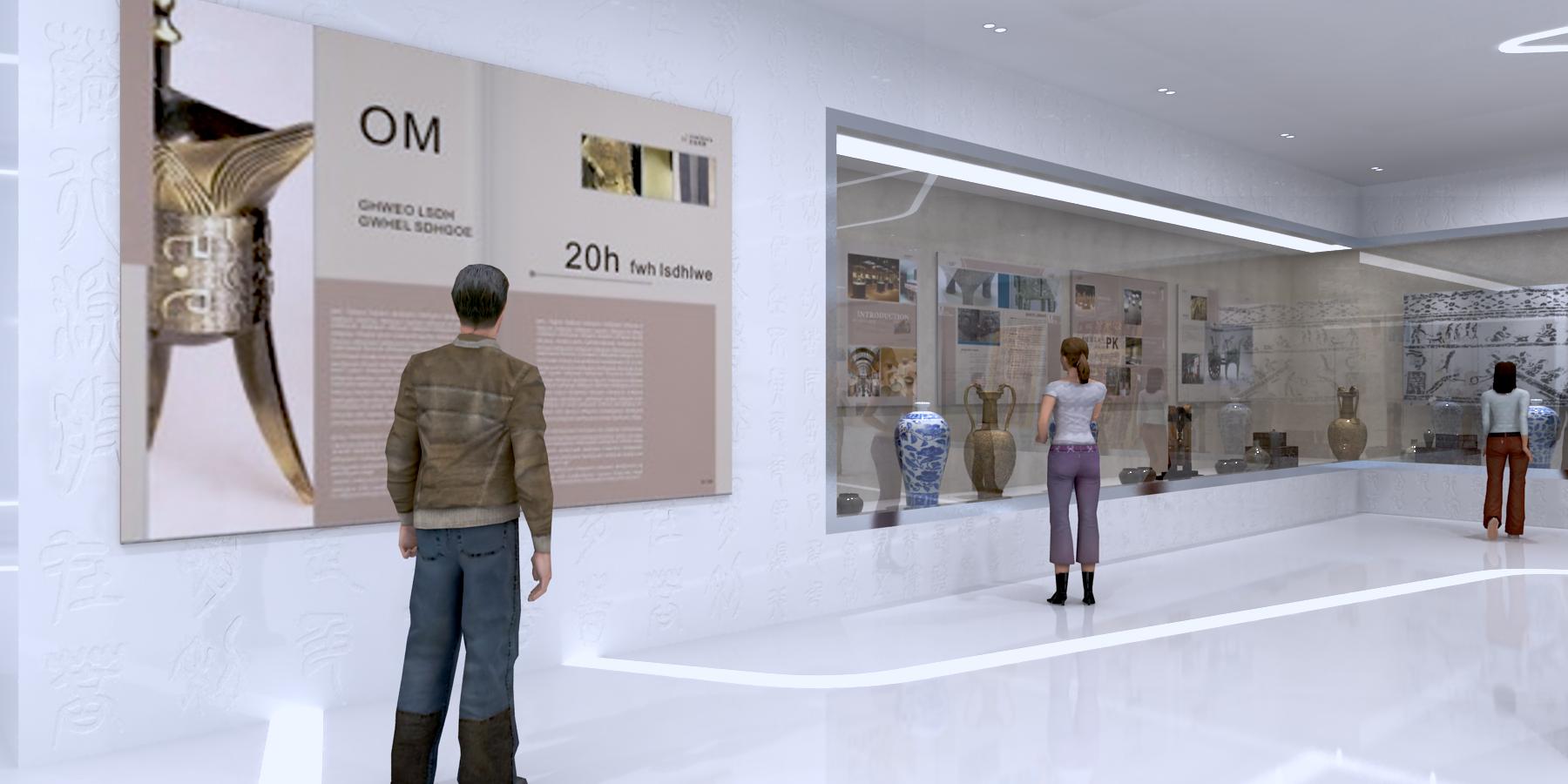 展览展示  展厅设计党建展厅企业展厅校史馆设计效果图施工图