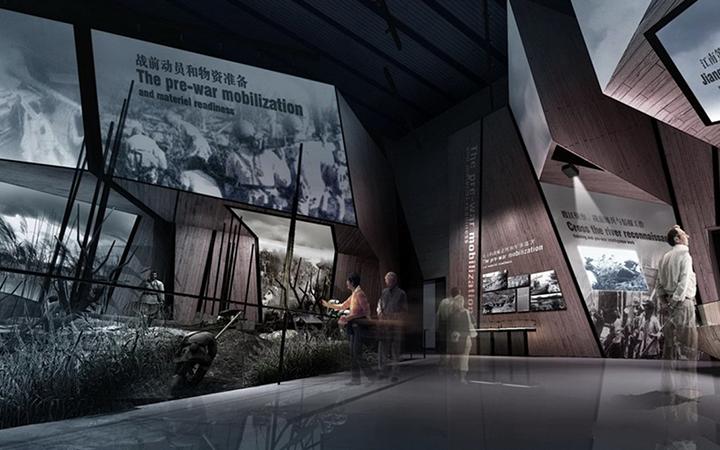 SI空间设计郑州展厅展会室内装修餐饮店家装效果图办公室公装连