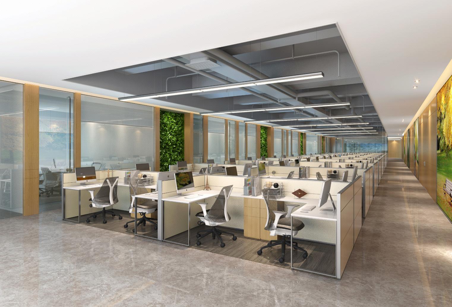 行政楼设计 写字楼 办公空间设计 效果图  室内装修 HZ