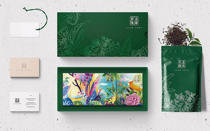 品牌包装设计礼盒手提袋水果包装袋食品包装盒设计农产品包装设计