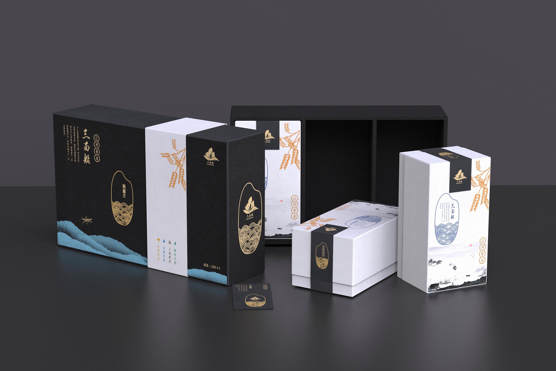 插画包装设计食品百货医药说明彩色系包装设计包装改良手提袋礼盒