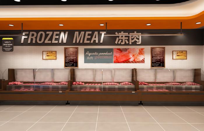 生鲜超市商场专柜零售专卖店便利店旗舰店展厅农产品服装店设计