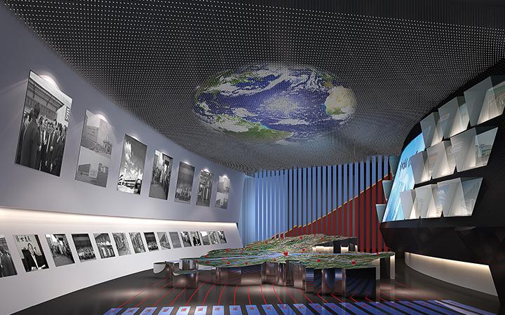 【星空创意】展览设计展厅设计展厅装修设计表现效果图施工图