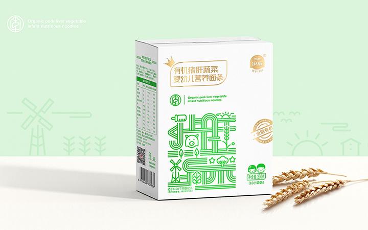 【礼盒包装】3D包装盒设计手绘插画创意包装设计食品日用品包装