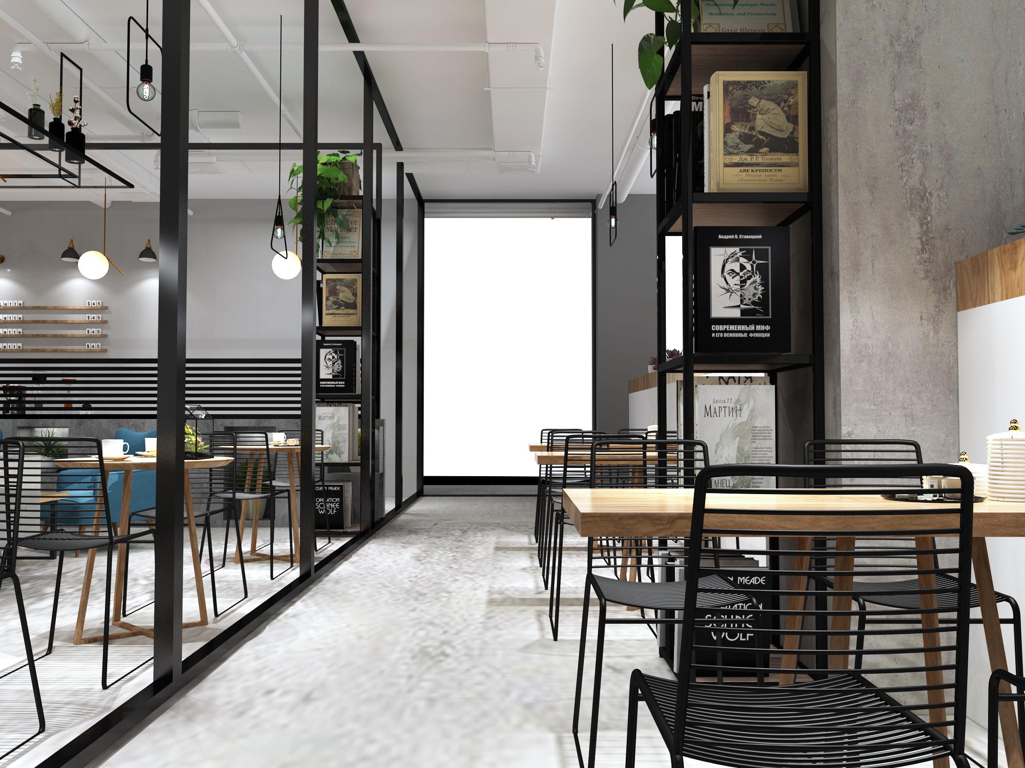 咖啡厅设计水吧清吧餐饮设计室内设计公装效果图图设计装修效果图