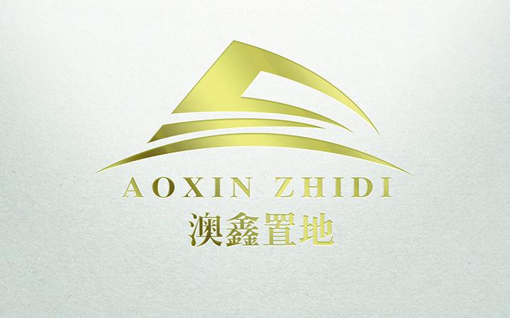 兰柯图文LOGO设计房产建设公司Logo门店文字logo设计