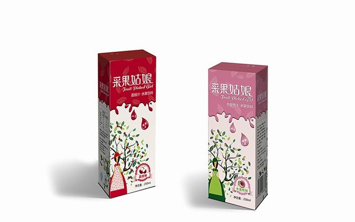 【饮料包装】卡通饮料包装/儿童乳酸菌/产品包装/创意手绘设计