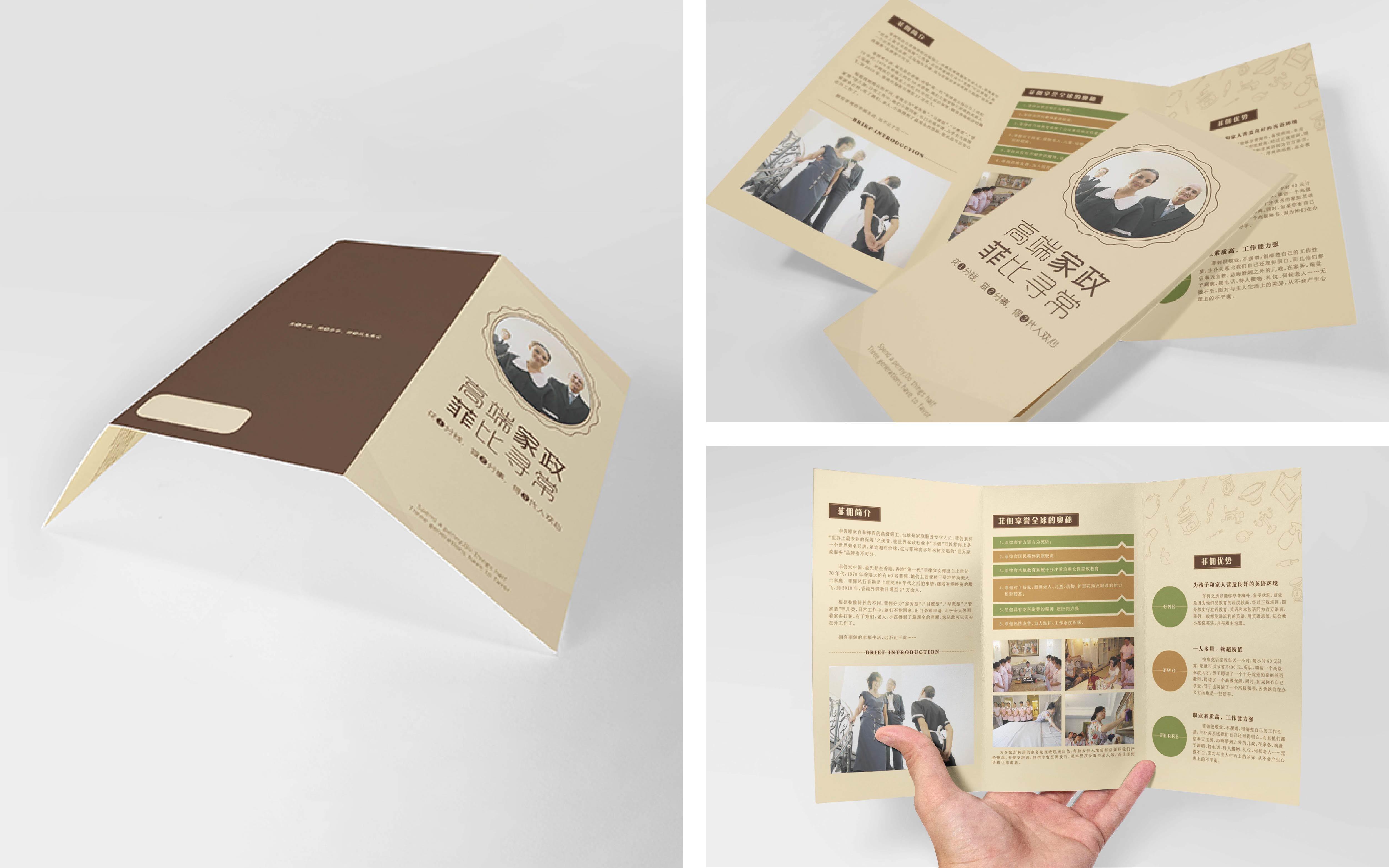 品牌产品推广楼盘销售旅游学校招生特约加盟使用说明宣传单设计