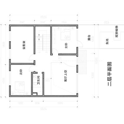 自建房平面方案设计