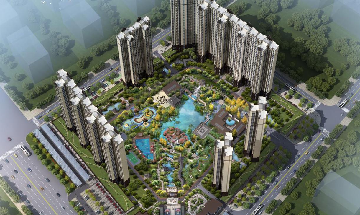 居住区小区住宅园林景观规划设计施工图效果图建筑设计专业公司