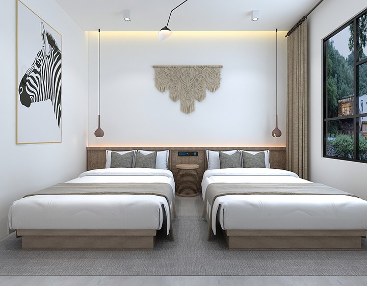 民宿设计 快捷酒店装修设计 主题酒店设计 旅馆住宿设计