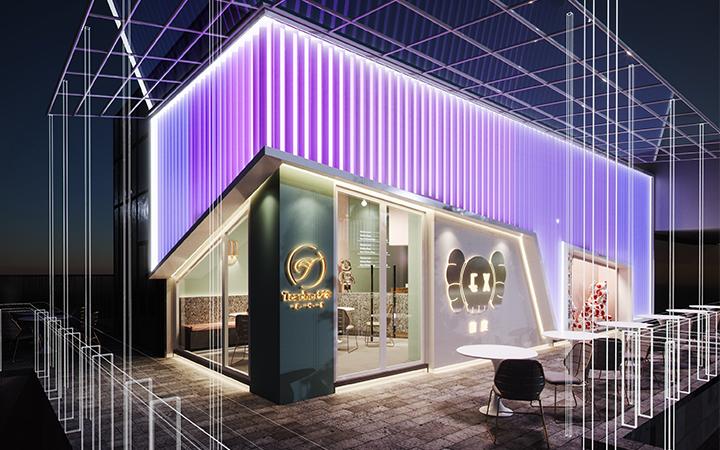 教育办公公装购物空间si门头展会展厅家庭新房装修服务效果设计